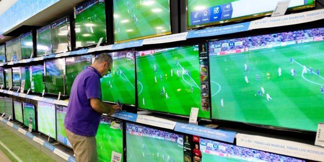 Liquidan todos los televisores que no pudieron vender para el Mundial