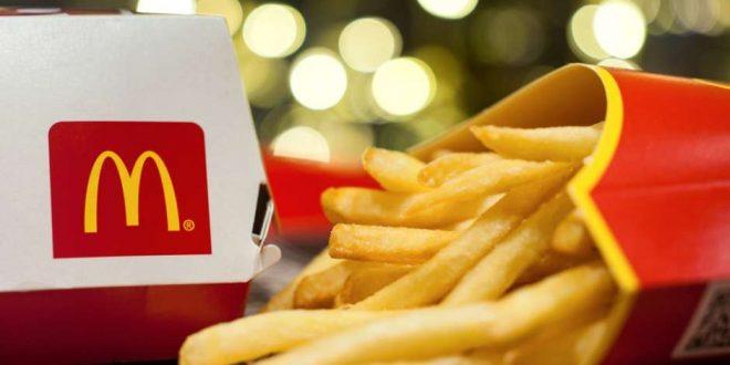 McDonald's va a regalar papas fritas por el resto del año