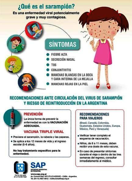 Alerta por varios casos de sarampión. Lo que tienes que saber