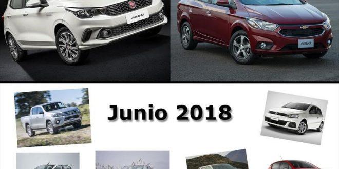 Los autos más vendidos de junio en Argentina