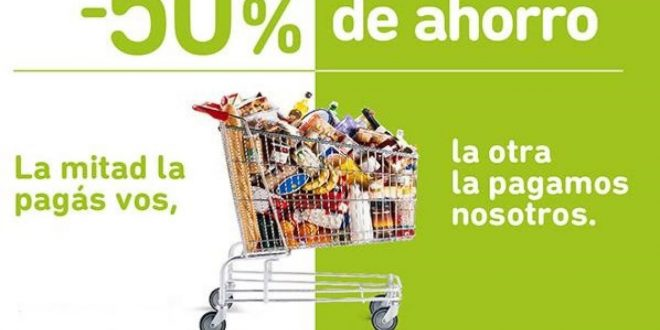 El Banco Provincia ofrece el 50% de descuento para compras en los supermercados