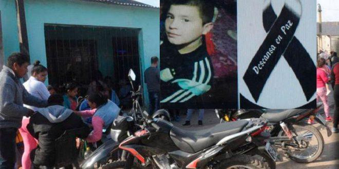 """""""Mamá me pegaron un tiro"""", fueron las últimas palabras del chico que murió mientras jugaba en la puerta de su casa"""
