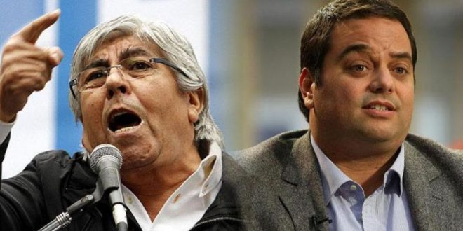 El Gobierno evalúa embargar las cuentas del gremio de Moyano por la multa millonaria