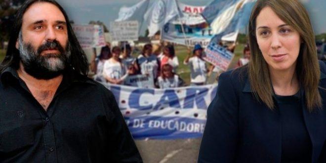 La millonaria multa que le aplicará la provincia de Buenos Aires al gremio de Roberto Baradel por adherirse al paro