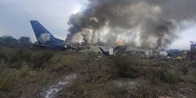 Video: Pasajero grabó el accidente del avión de Aeroméxico desde adentro