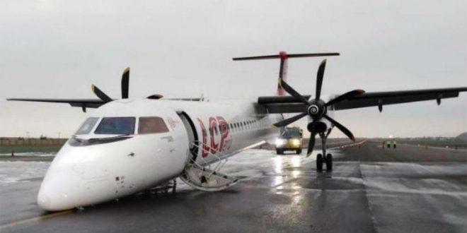 Video: El momento en que un avión aterrizó de emergencia en el aeropuerto de Lima