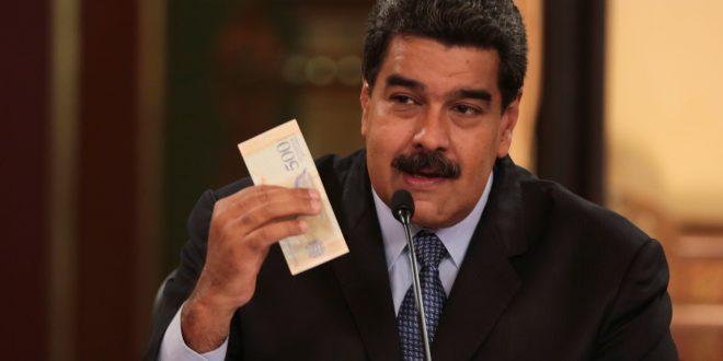 Maduro anuncia nuevo tipo de cambio y devaluación del 96% en Venezuela