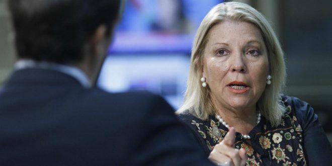 "Elisa Carrió : ""No va a haber helicóptero"""