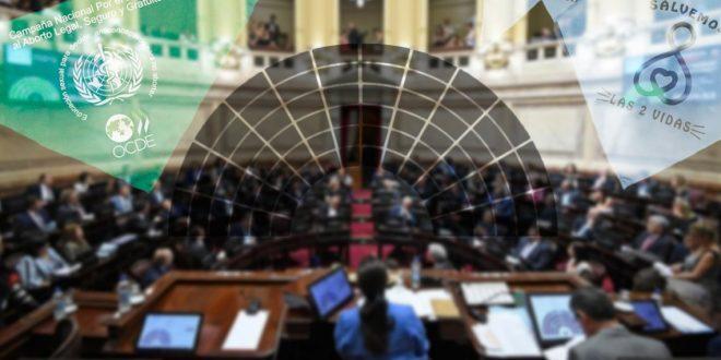 Miralo en vivo : El senado debate la ley de aborto legal