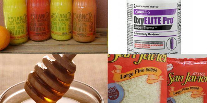 ANMAT prohibió venta y consumo de una miel, un jugo y una marca de arroz