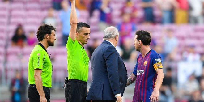 "Video : El enojo de Leo Messi ""A mi me tratás con respeto"""