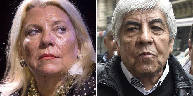 Elisa Carrió : Hugo Moyano esta a punto de preso