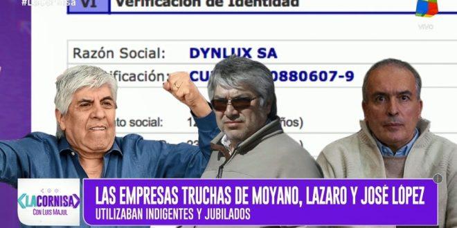 """Denuncian un vínculo entre Lázaro Báez, José López y Hugo Moyano en una red de """"empresas truchas"""""""