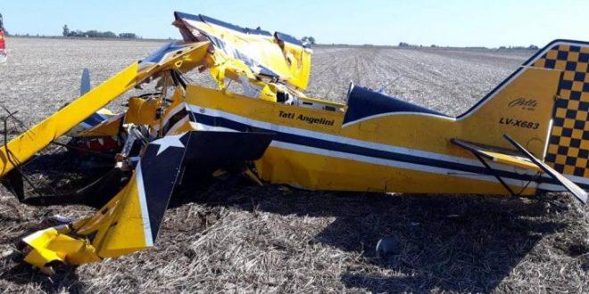 Murió piloto de TC al estrellarse con su avioneta