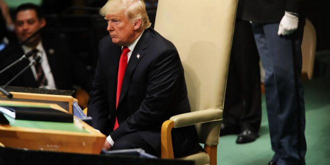 """Trump, ante la ONU: """"La situación en Venezuela es inaceptable"""""""