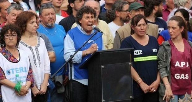 """Amenaza de la CTA en Plaza de Mayo: """"O se cae este modelo económico o estos tipos dejan el gobierno"""""""