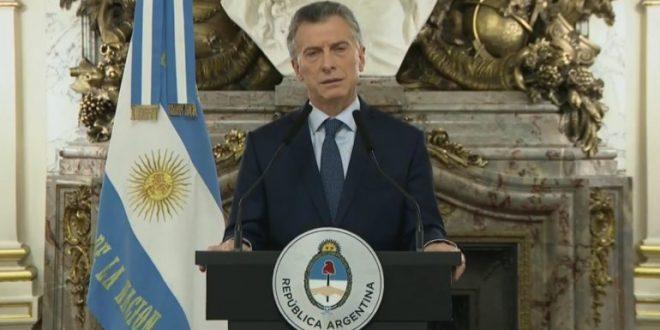 Macri brindará un mensaje a las 16.30 luego del anuncio del nuevo acuerdo con el FMI