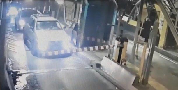 El video del instante fatal de la discusión entre el prefecto y su víctima