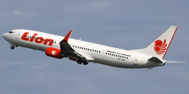 Un avión de Lion cayó al mar con 189 personas