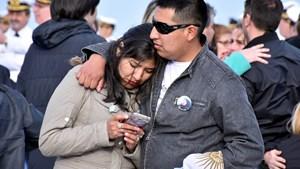 ARA San Juan: familiares de los tripulantes pidieron que no se difundan más imágenes