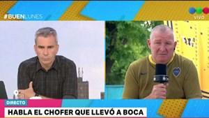 """El dramático relato del chofer del micro de Boca: """"Me desvanecí"""""""