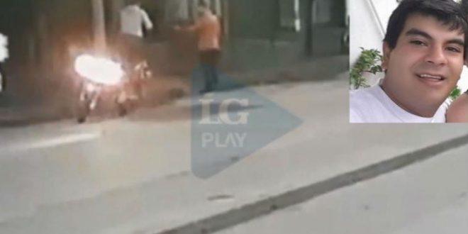 Video: El momento exacto en que el policía de civil balea al joven que murió