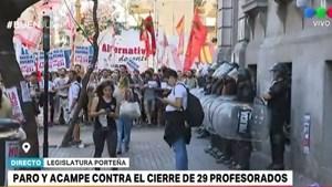 En medio de protestas, la Legislatura porteña votará la creación de la UniCABA