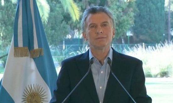 """Macri, sobre la reelección: """"Estoy listo para continuar, Argentina no puede volver atrás"""""""