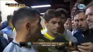 """Habló Tevez: """"No estamos en condiciones de jugar"""""""