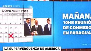La Conmebol se reúne el martes en Paraguay