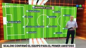 La Selección se prueba esta noche con México