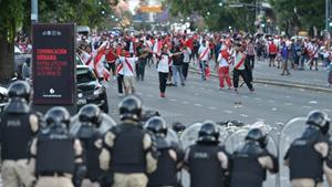 Liberaron a los detenidos por los incidentes en el Monumental