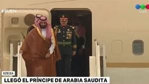 Llegó al país el príncipe saudita