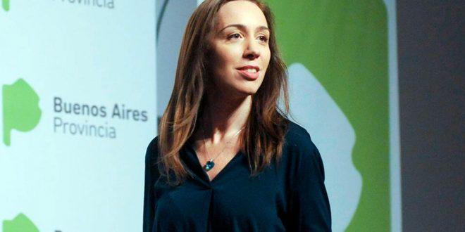 """María Eugenia Vidal: """"¿Es justo que un piloto gane $200 mil cuando un docente gana $33 mil?"""
