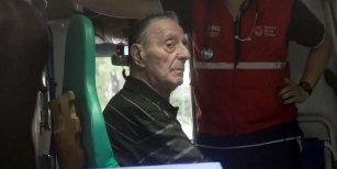 """Mientras Tristán era trasladado al Hospital, su hijo y su nieta tuvieron un fuerte cruce: """"Vago, mantenido"""""""