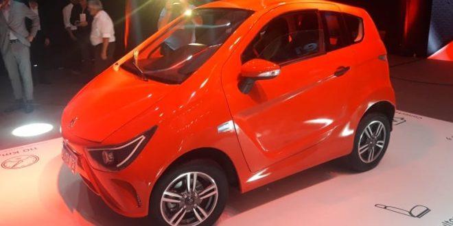 El primer auto 100% eléctrico fabricado en Argentina