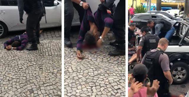 Video : La policía mató a un delincuente, la gente aplaudió y gritó por Bolsonaro