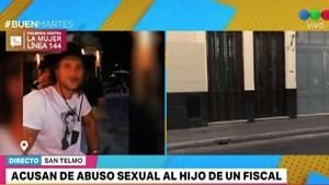 Acusan de abuso sexual al hijo de una fiscal