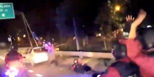 El insólito accidente de un policía que custodiaba el micro de Boca antes de partir