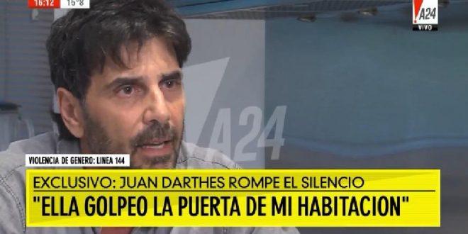 """Video : """"Ella entró a mi habitación"""" dijo Juan Darthés"""