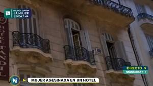 Encontraron asesinada a una mujer en un hotel del centro