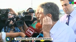 Excarcelaron a Boudou tras pasar 4 meses preso por el caso Ciccone