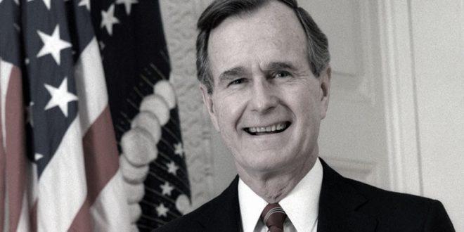 Murió George H. W. Bush a los 94 años