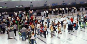 Hacían el check-in en Aeroparque y los sorprendió algo que no esperaban