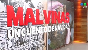 Hallaron una historieta en una trinchera argentina de Malvinas