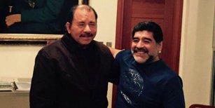 La jugada oculta que quiso realizar Darthés para llegar al presidente de Nicaragua que involucra a Diego Maradona