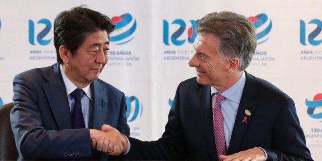 """Macri tras firmar acuerdo con Japón: """"Decidimos elevar la relación a socios estratégicos"""""""