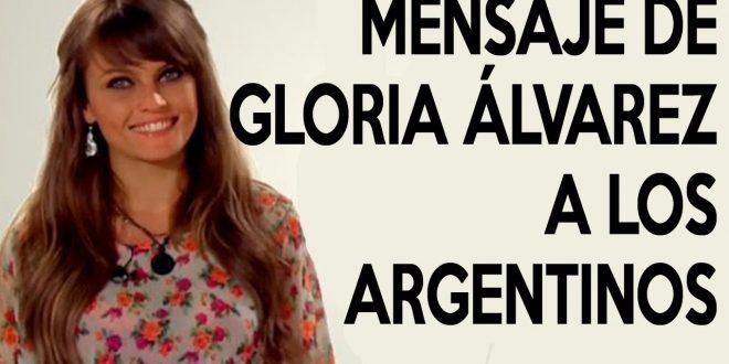 Impecable video : Que piensa de Macri y su gobierno Gloria Alvarez