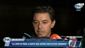 """Marcelo Gallardo, tras ganar la Superfinal: """"Es un logro que va a quedar en la historia"""""""
