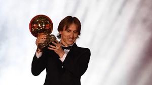 Modric ganó el balón de oro y terminó con el reinado de Messi y Ronaldo